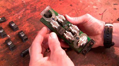 fix  chev power window door lock switch youtube