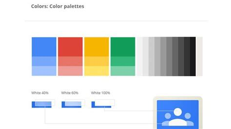 two color combinations google search coach it the inside scoop on google s visual design guidelines