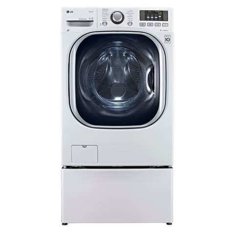 lg 5 0 cu ft front load all in one electric washer dryer