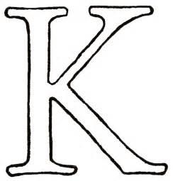 letter k template catnipstudiocollage monogram monday the letter k