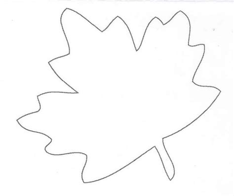 oak leaf template template oak leaves leaf az coloring pages