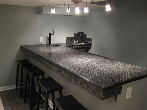 Granite Tile Bar Top by 1000 Images About Countertop Tile On