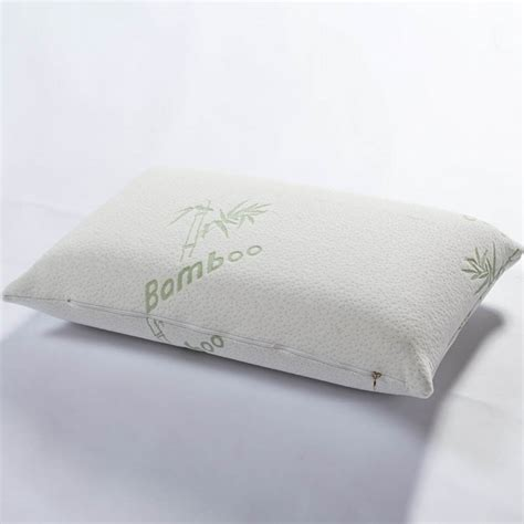 massage bed pillow bamboo fiber memory foam pillow therapy neck pillow