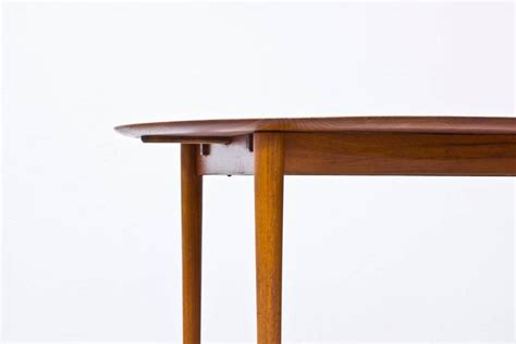 Solid Teak Dining Table 1950s Solid Teak Dining Table By Hvidt And Molgaard For Sale At 1stdibs