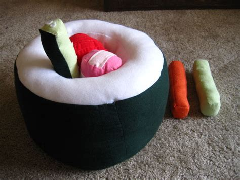 Sushi Pillow by Sushi Pillow All