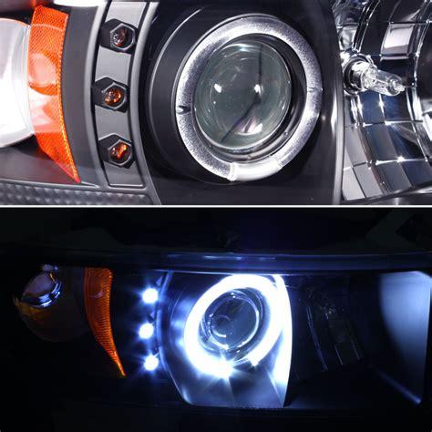 dodge ram hid lights hid xenon 94 01 dodge ram truck angel eye halo led