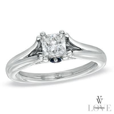 engagement ring vera wang collection 7 8 ct t w