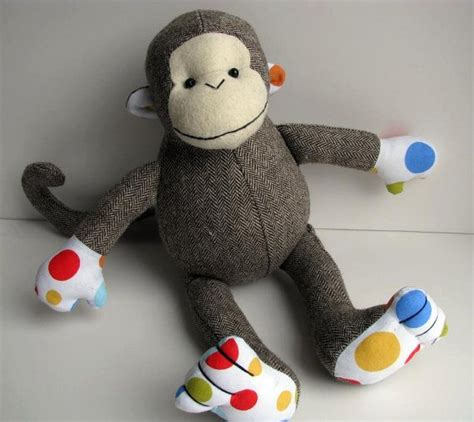 Handmade Baby Toys Patterns - 17 best images about macacos on toys sewing