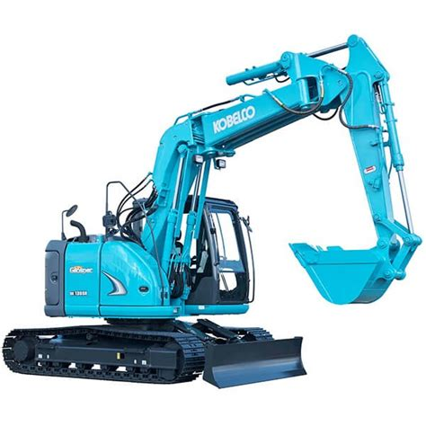 Ac Excavator kobelco sk135sr excavator 13t with a c cab for hire