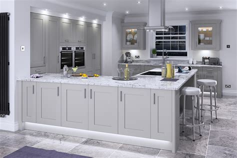 light grey kitchen feature doors important painted kitchen information