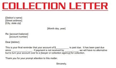 Sle Letter For Payment Collection factors to be considered in writing collection letter