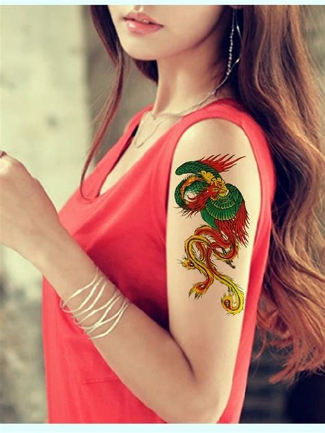 40 new phoenix tattoo designs for 2016 bored art