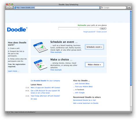 doodle schedule event swissmiss doodle