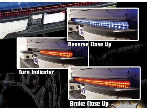 Rage Led Light Bar Rage Led Tailgate Light Bar Rage 960136 Shop Realtruck Www Hempzen Info
