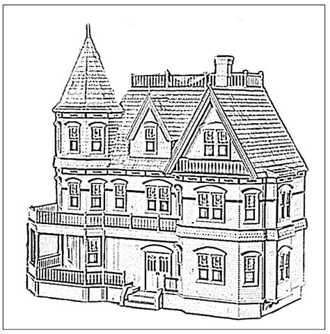 printable coloring pages for adults houses house coloring pages bestofcoloring com