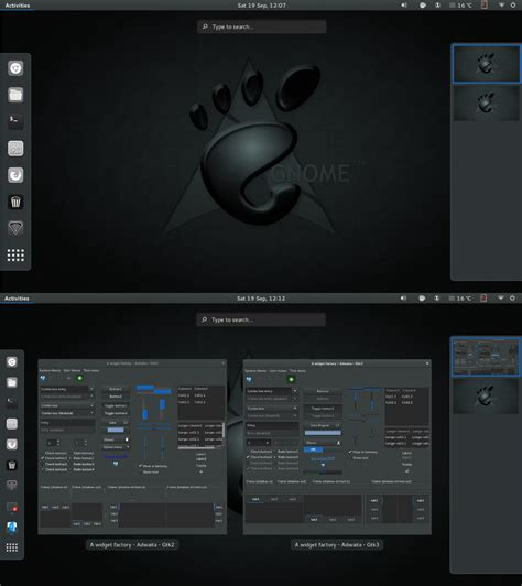 gnome themes directory gnome dark theme accessory pack by cbowman57 on deviantart