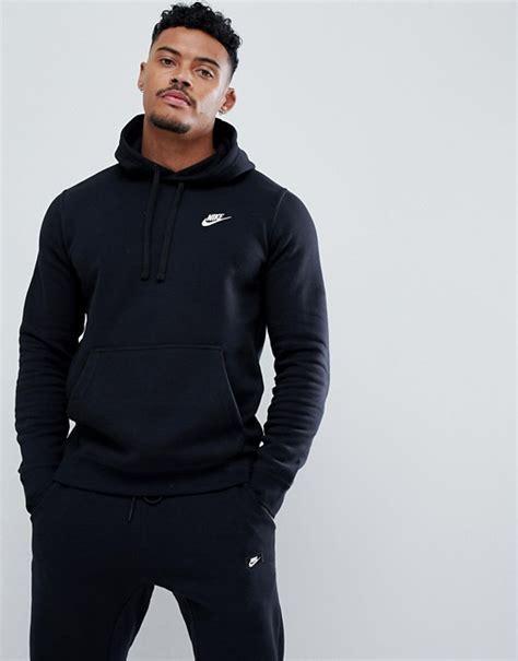 Hoodie Nike Sweater Nike Nike Logo nike nike pullover hoodie with swoosh logo in black
