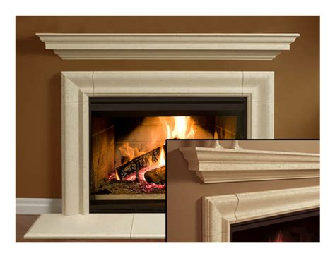 Cast Fireplace Mantels by Fireplace Surround Cast Fireplace Mantel In
