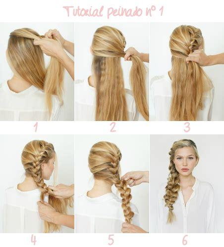 semirecogidos faciles para hacer en casa peinados de pelo recogido sencillos