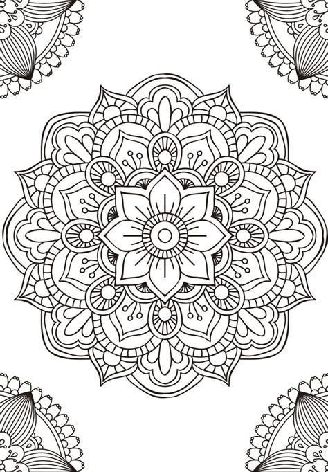 imágenes de mandalas sin pintar mandalas para pintar interlazados