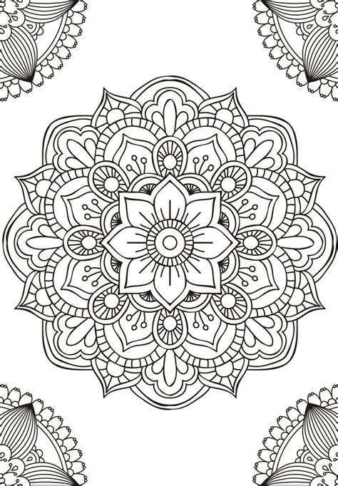 imagenes tumblr para colorear mandalas para pintar interlazado