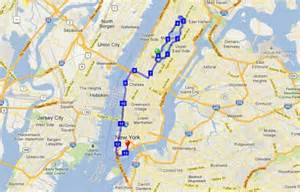 New York Marathon Course Map by Image Gallery Nyc Marathon Map 2015