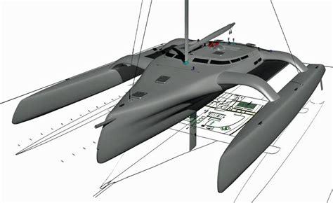 multihull catamaran design trimaran projects and multihull news kurt hughes 75