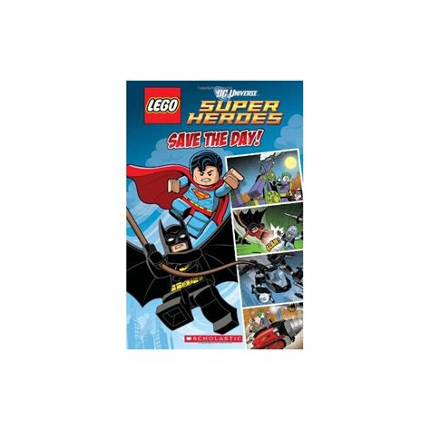 Lego Dc Superheroes Save The Day lego dc heroes save the day comic reader 1