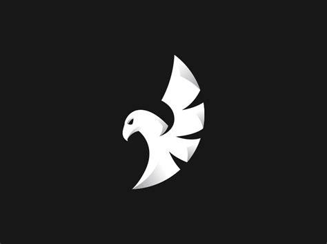 falcon logo  cajvanean alexandru  dribbble
