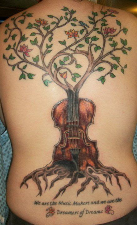 violin tattoo back 39 best images about tattoos on pinterest vine tattoos