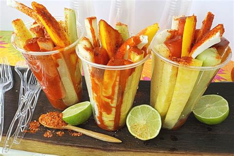 fruit cups mexican fresh fruit cup recipe with chamoy chili seasoning mix