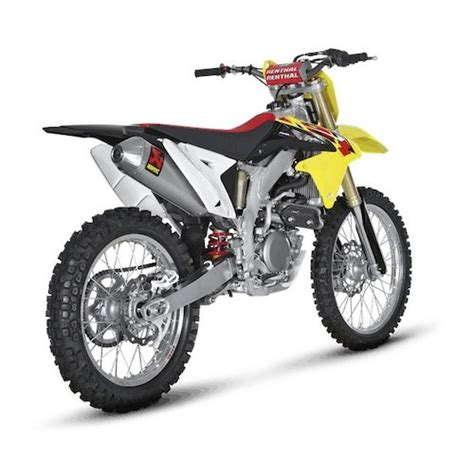 Suzuki Rmz 450 Parts Akrapovic Evolution Exhaust System Suzuki Rmz 450 2008