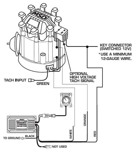 msd distributor wiring diagram free picture