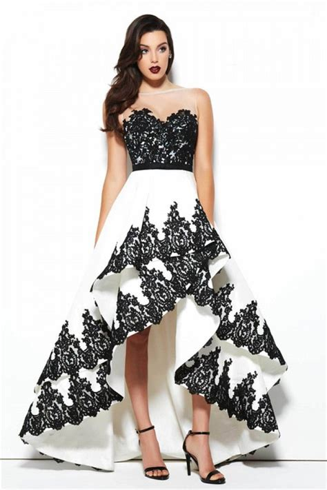 Black White List Dress black and white dresses oasis fashion