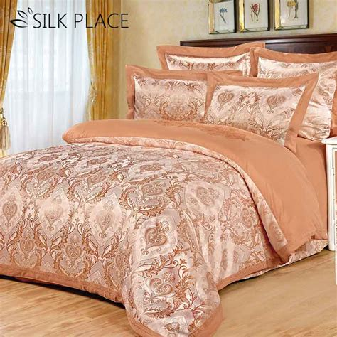 Designer Bed Sets Sale Silk Place Sale Bed Linens Designer Satin Luxury Bedding Set Cotton Jacquard Comforter