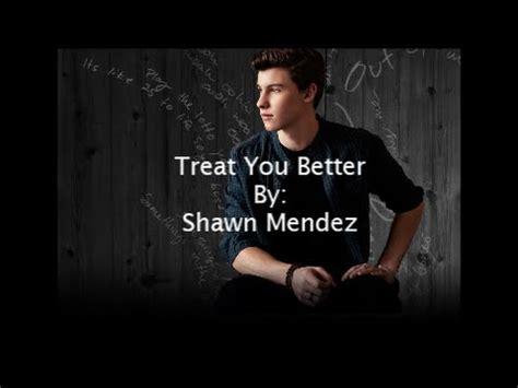 download mp3 free treat you better treat you better lyrics music mp3 video