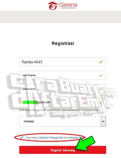 buat akun pb garena com buat akun pb garena langsung verifikasi gratis