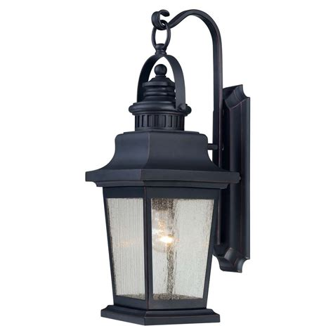 Savoy House Outdoor Lighting Seeded Glass Outdoor Wall Light Black Savoy House 5 3554 25 Destination Lighting