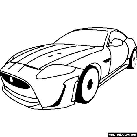 jaguar car coloring pages jaguar f type car coloring pages