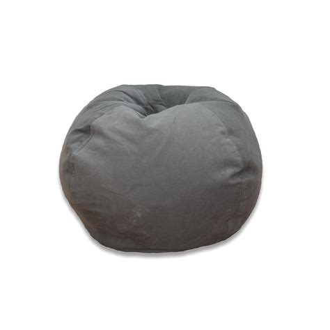 ace casual furniture vintage slate corduroy bean bag