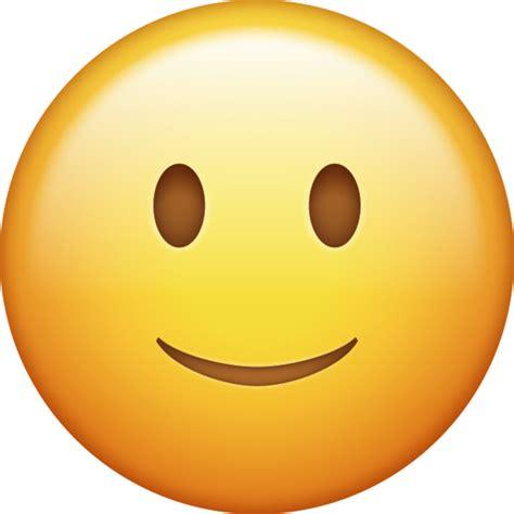 slightly smiling iphone emoji icon  jpg  ai emoji island