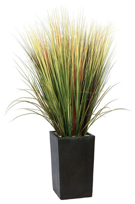 Indoor Grass Planters by 5 Foot Artificial Grass Floor Plant Indoor Pots And Planters