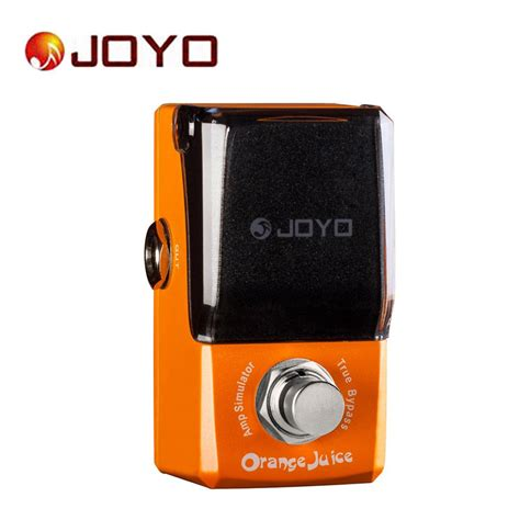 Juicer Jf joyo ironman jf 310 electric guitar effect pedal orange