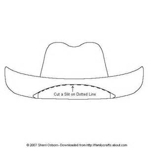 paper cowboy hat template paper doll accessories cowboy hats paper and free printable