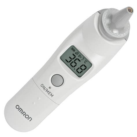 Thermometer Infrared Omron omron mc 523 ear thermometer white free shipping