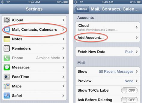 email layout for iphone how to setup email on new iphone raleigh mobile design