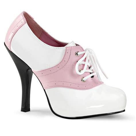 shoes for school costume white pink grease costume heels saddle shoes school