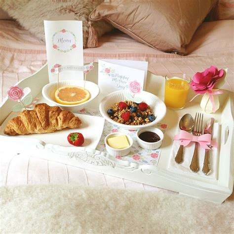 mother s day breakfast in bed mother s day breakfast in bed kit by wit wisdom