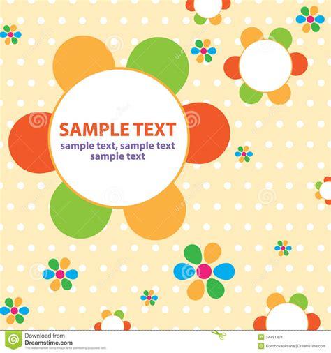 vector background for children stock illustration image