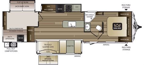 cougar floor plans 2017 keystone cougar 34tsb cing world of fort myers